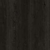 Floorrich All Black Amber SPC with wood grain pattern for residential flooring